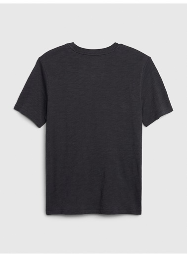 Gap Hologram Grafik Kısa Kollu T-Shirt Mavi